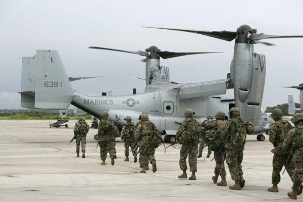The Bell Boeing V-22 Osprey V 22 Osprey Marines